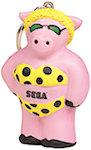 Cool Pig Keyring Stress Balls